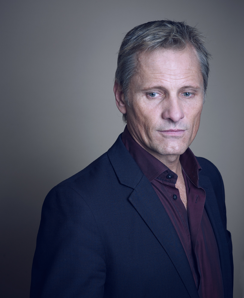 Viggo Mortensen photographed in London 18/10/14.
