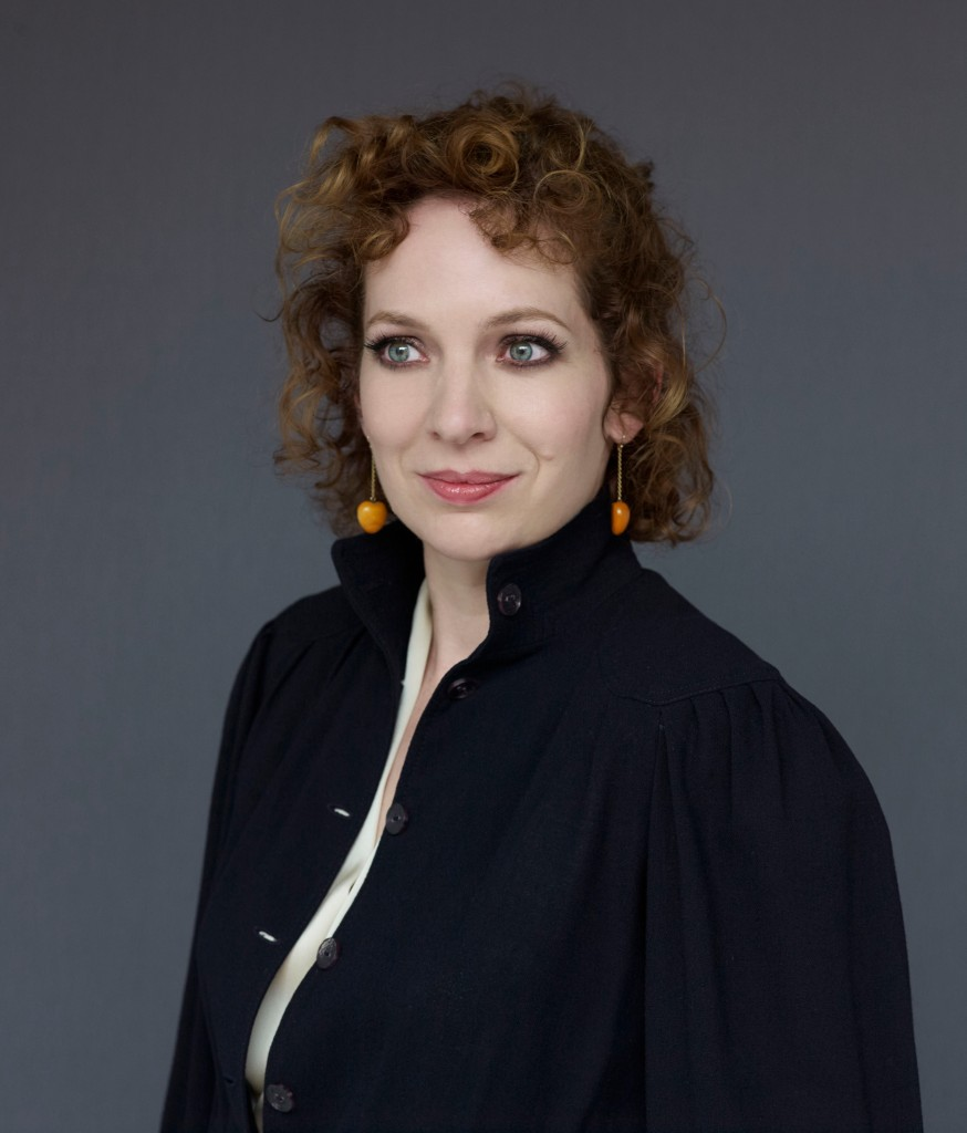 Actress Katherine Parkinson. photographed at the Observer studios on 15/9/15.